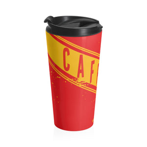 Caffeine Jerry Can Stainless Steel Travel Mug