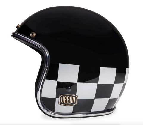 "Urban Helmets ""Chess"" 3/4 HELMET"