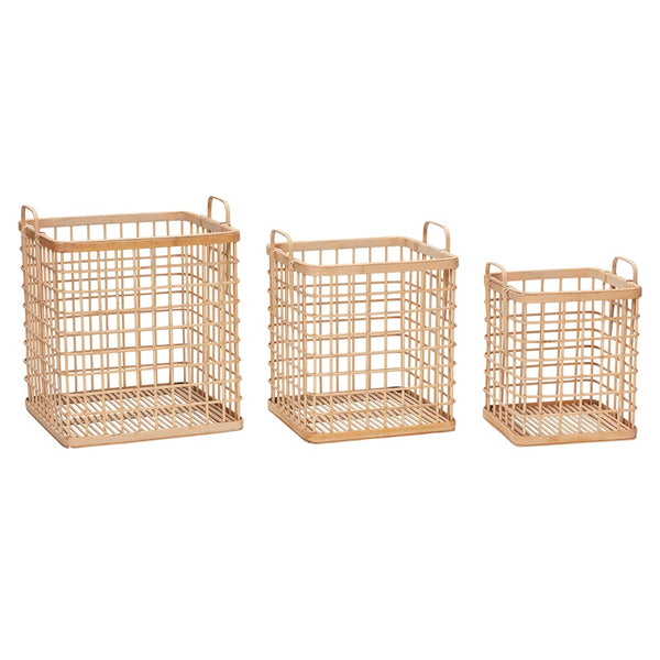 Bamboo Storage Basket - 3 Sizes