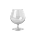 Cognac Bubble Glass - Set of 2