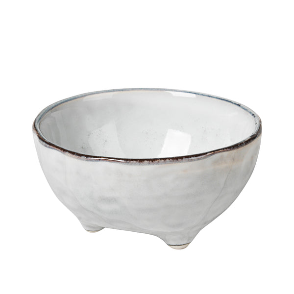 Nordic Sand Dip Bowl with Feet
