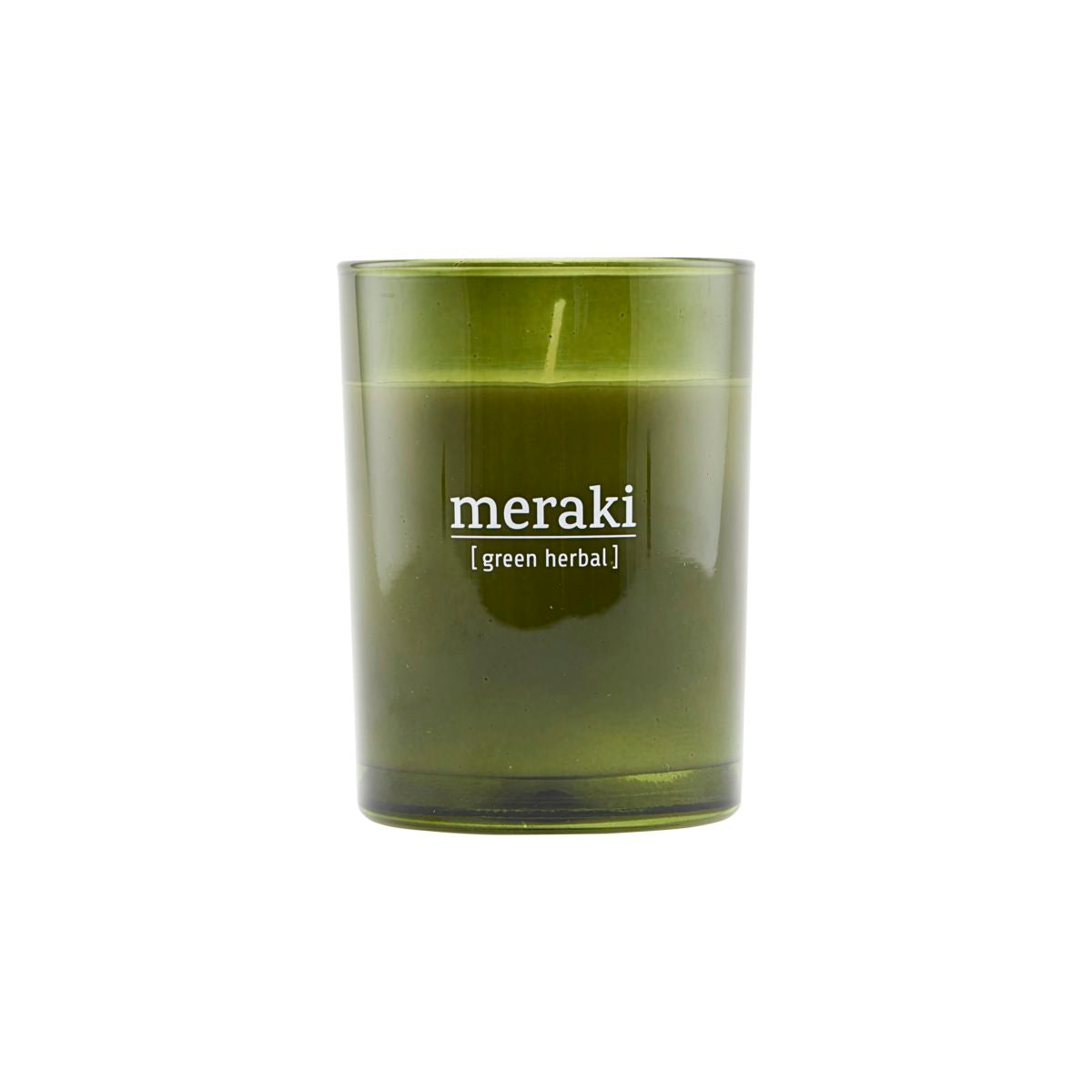 Green Herbal Candle - Large