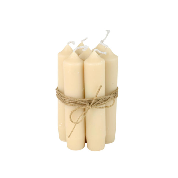 Short Dinner Candle Bundle - Cream