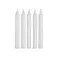 Medium Dinner Candle Bundle - White