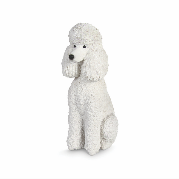 White Poodle Coinbank