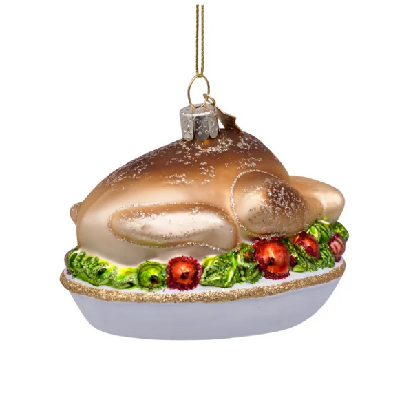 Turkey Dinner Tree Ornament