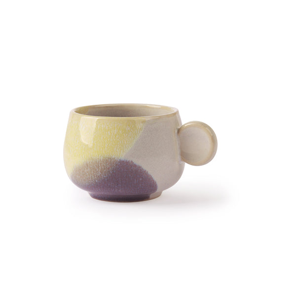 Gallery Coffee Cup Yellow / Lilac