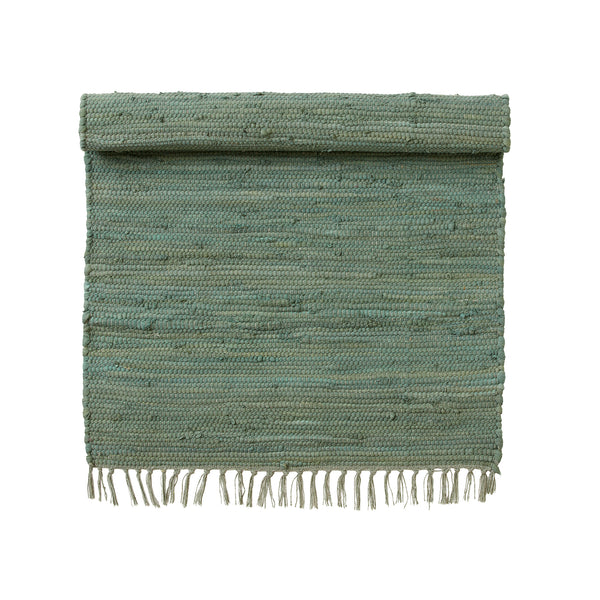 Cotton Chindi Rug - Green