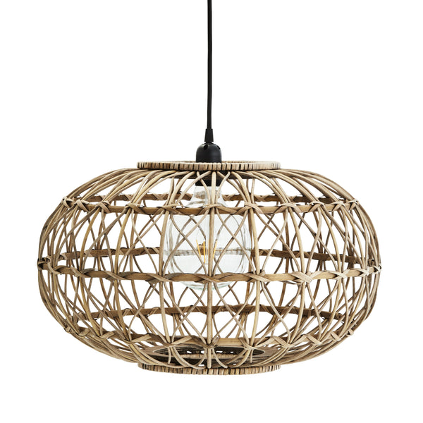 Orb Rattan Ceiling Light
