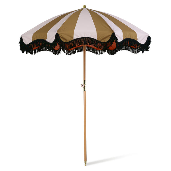 Nude & Mustard Beach Umbrella