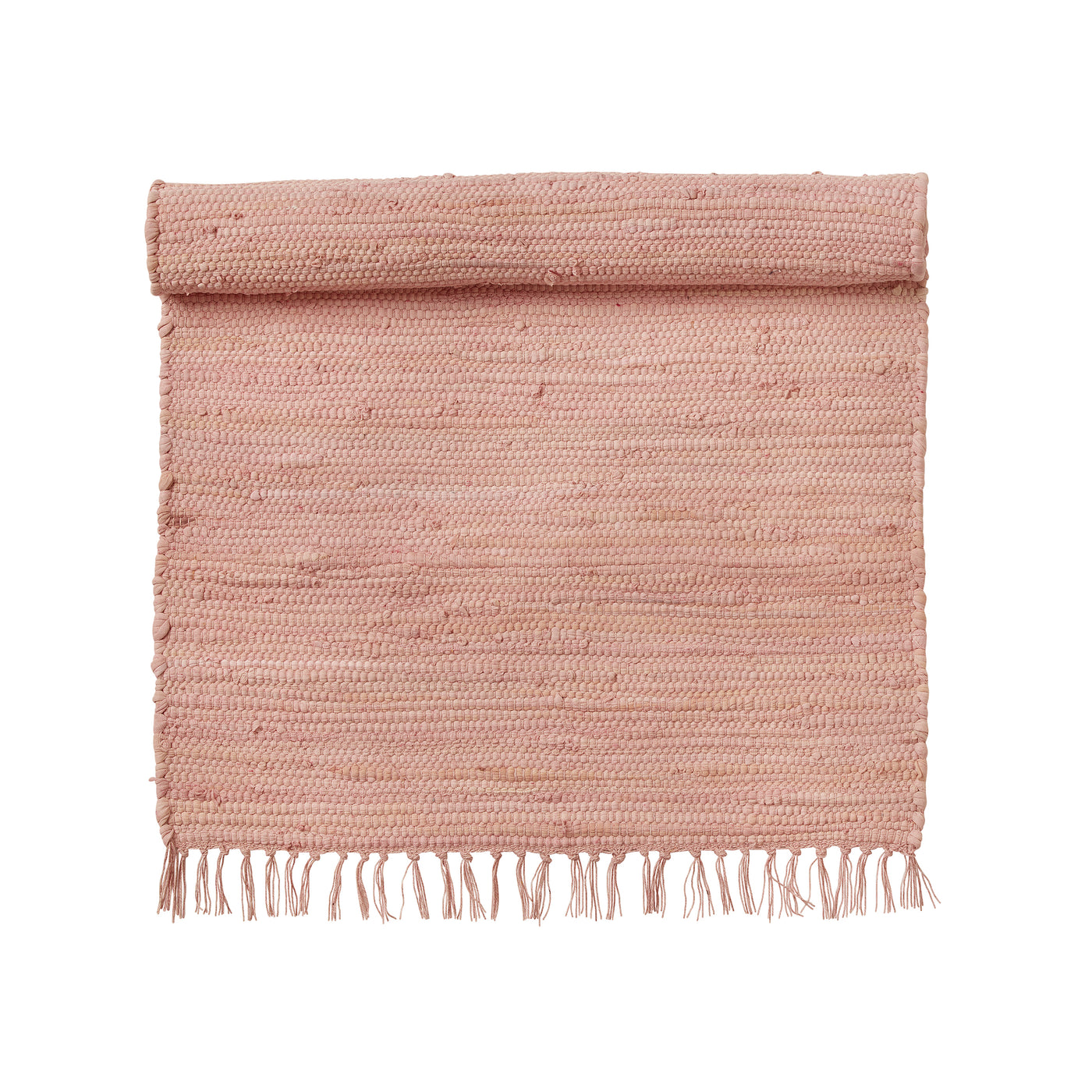 Cotton Chindi Rug - Nude