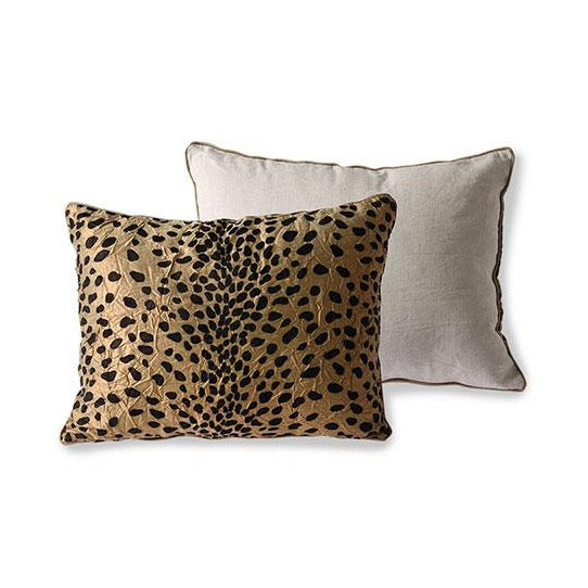 Doris Panther Print Cushion