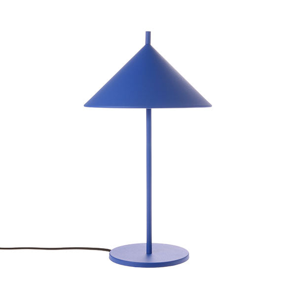 Cobalt M Metal Triangle Lamp