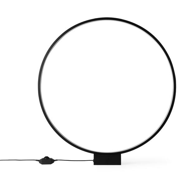 Luminous Black Circle Lamp
