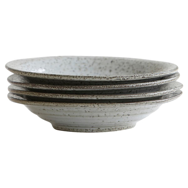 Rustic Grey Soup Bowl
