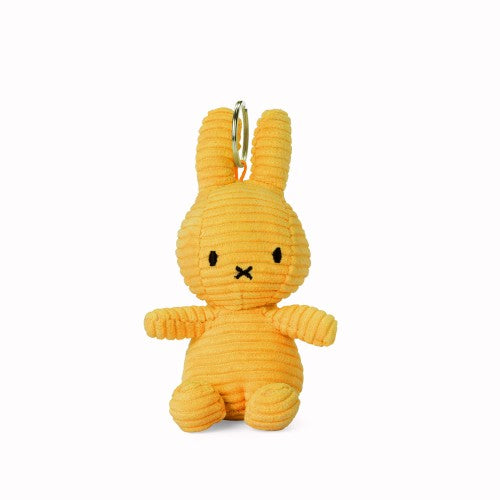 Yellow Corduroy Miffy Keyring