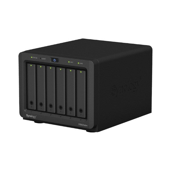 NAS Network Storage Synology DS620slim Celeron J3355 2 GB RAM Black