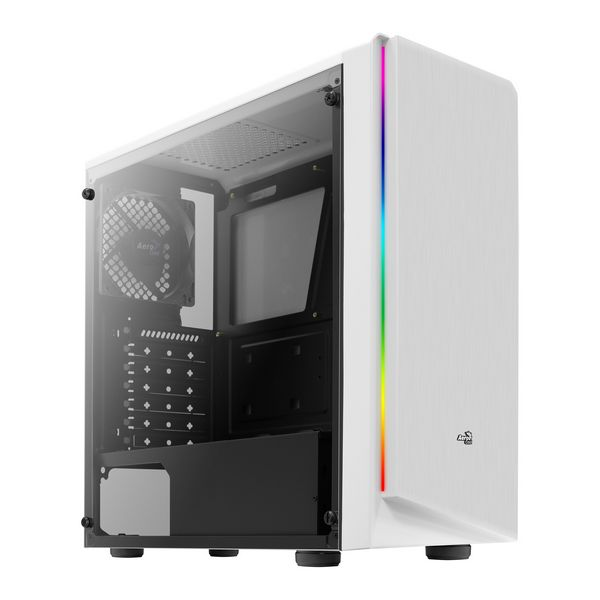 Micro ATX / Mini ITX / ATX Midtower Case Aerocool Rift RGB LED White