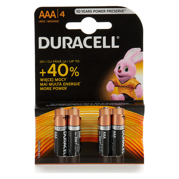 Alkaline Batteries Plus Power DURACELL LR20/MN1300 (2 pcs)