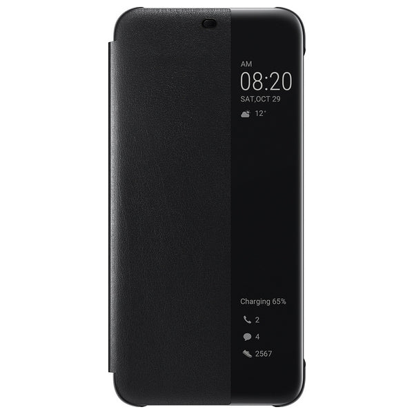 Book Case Huawei Mate 20 Lite View Cover Black