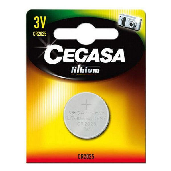 Lithium Button Cell Battery Cegasa CR2025 3V