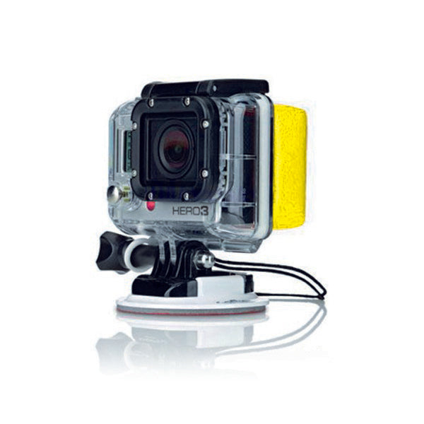 Floating Sponge for Sports Camera Yellow