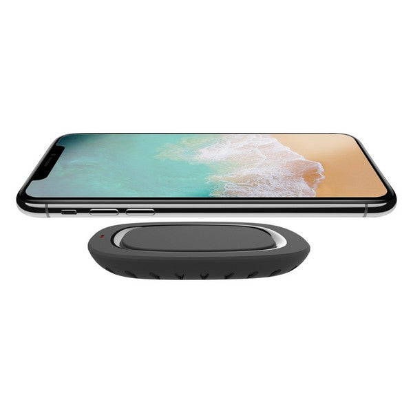 Qi Wireless Charger for Smartphones Black