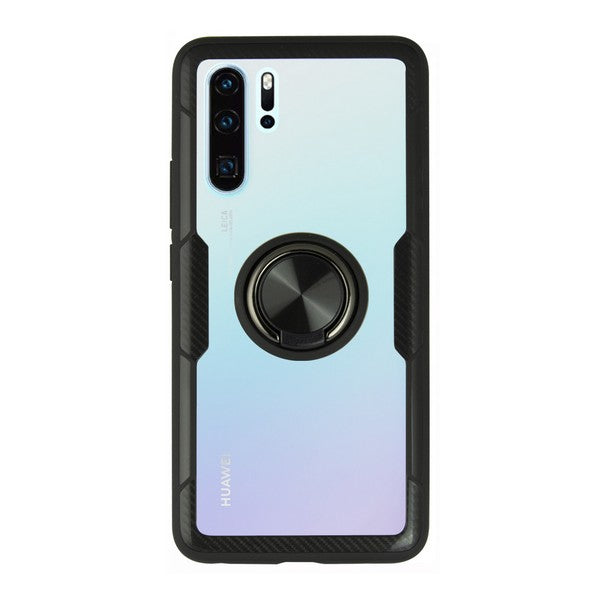 Housing with ring Huawei P30 Pro 360 Ring Black