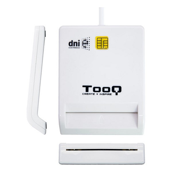 External Card Reader TooQ TQR-210W 480 Mbps White (Refurbished A+)
