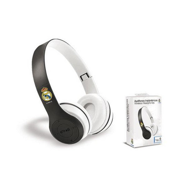 Foldable Headphones Real Madrid C.F. Bluetooth White
