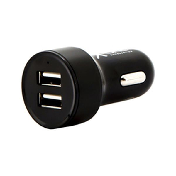 Car Charger Ref. 138369 2 x USB-A Black