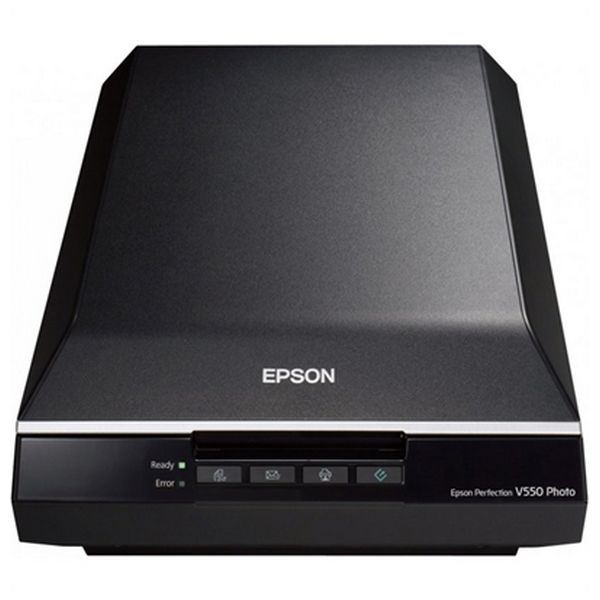 Portable Scanner Epson Perfection V550 Photo B11B210302 6.400 ppp 3,4 Dmax A4 USB 2.0 B