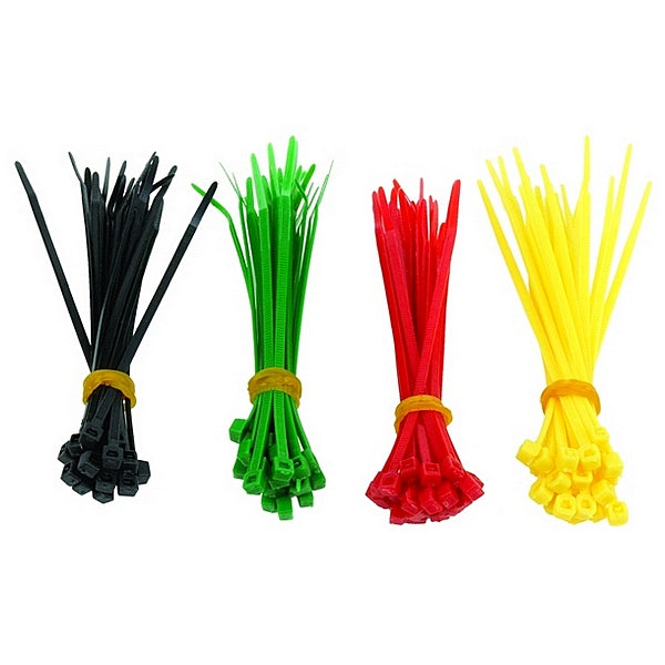 Nylon Cable Ties GEMBIRD NCT-100 (100 uds) Multicolour
