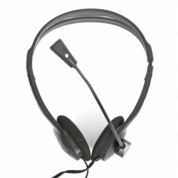 Headphones with Microphone Omega Fiesta FIS1010 Black