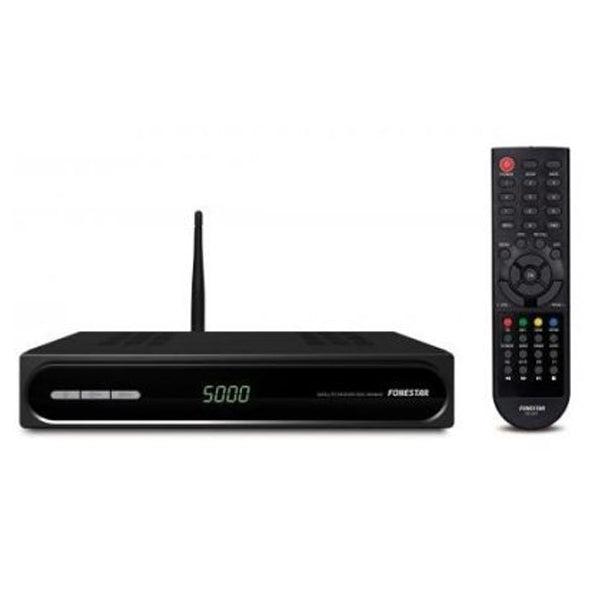 Satellite Receiver FONESTAR RDS-584WHD USB 2.0 Wifi / Ethernet Black