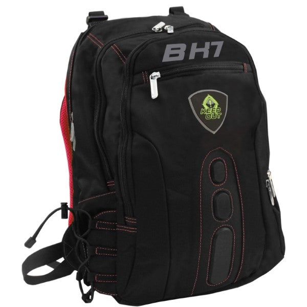 "Rucksack Gaming KEEP OUT BK7R 15,6"" Black Red"