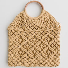 Load image into Gallery viewer, Gidget Macrame Tote