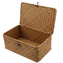 Load image into Gallery viewer, Straw Woven Storage Basket