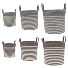 Load image into Gallery viewer, Handmade Woven Storage Baskets