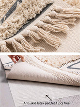 Load image into Gallery viewer, Valen Nordic Tufted Cotton Area Rug