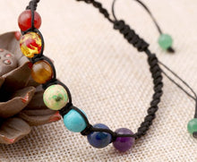 Load image into Gallery viewer, Chakra Rainbow Bracelet