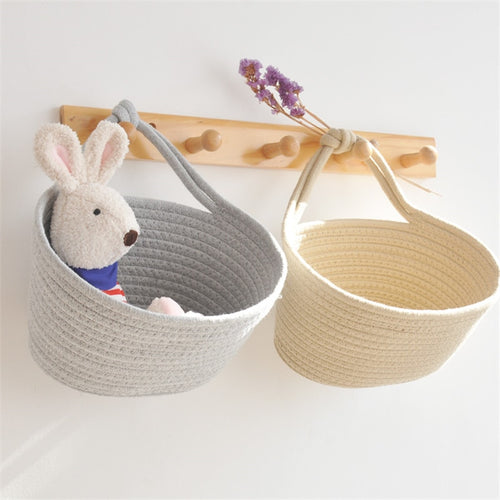 Cotton Thread Woven Basket