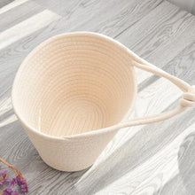 Load image into Gallery viewer, Cotton Thread Woven Basket