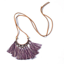 Load image into Gallery viewer, Malibu Tassels Pendant Necklace