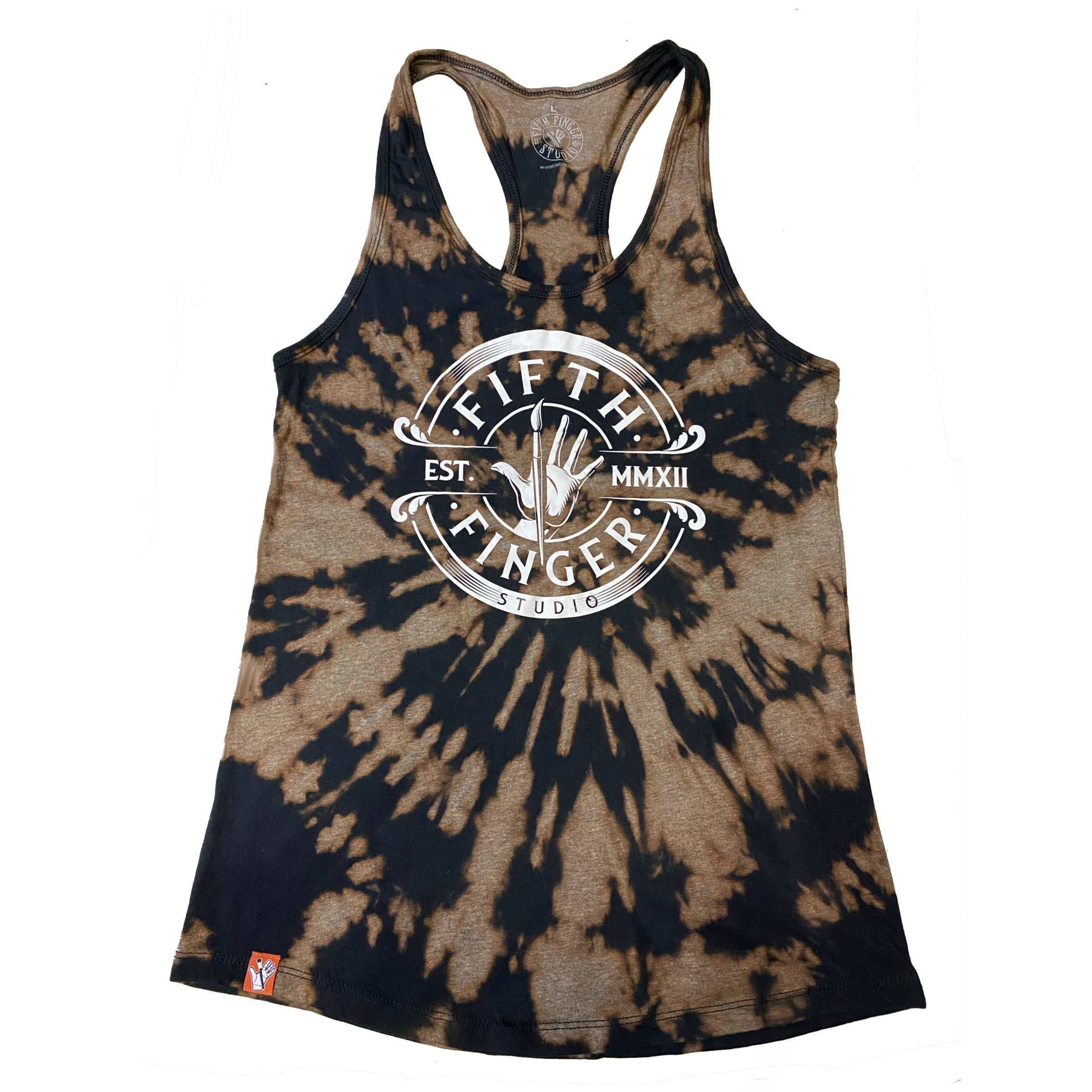 Established tank Tye dye