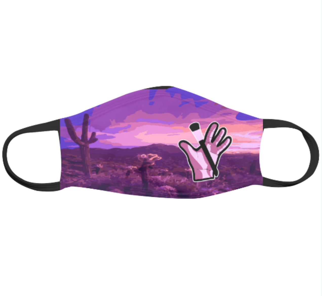 Arizona Sunset Mask