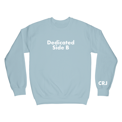 Dedicated Blue Crewneck + Digital Album