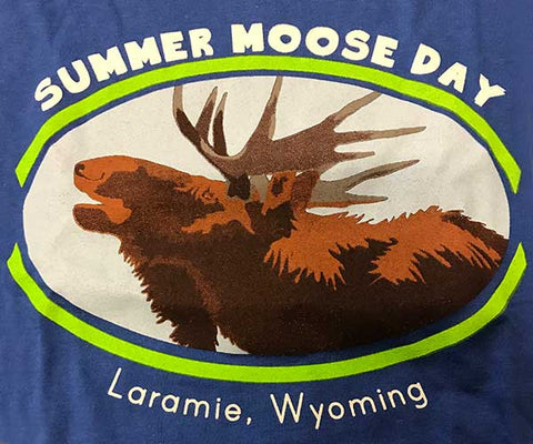 Summer Moose Day Tee-Shirt