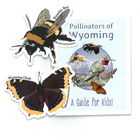 Pollinators of Wyoming: A Guide for Kids! - With Stickers