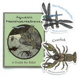 Aquatic Macroinvertebrates: A Guide for Kids - with Stickers